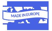 Tillverkad i Europa